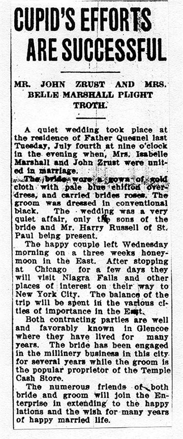 Joseph bartosch wedding